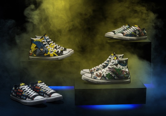 Batman And Converse Celebrate 80th Anniversary Of The Comic Book Hero Franchise