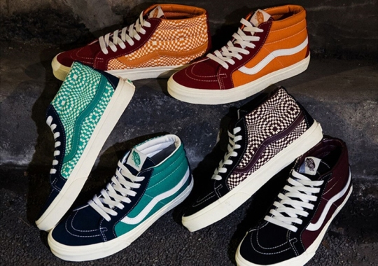 "BILLY'S Presents The Vans Sk8-Mid ""Warped Check"" Exclusives"