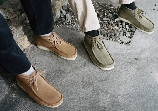 Carhartt WIP Utilizes Signature Colors For First Ever Clarks Originals Collaboration