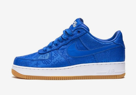 Edison Chen Reveals CLOT's Silk-Dressed Nike Air Force 1 Collaboration