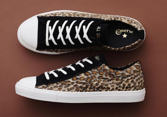 Converse Adds Faux Leopard Fur To The All Star Coupe