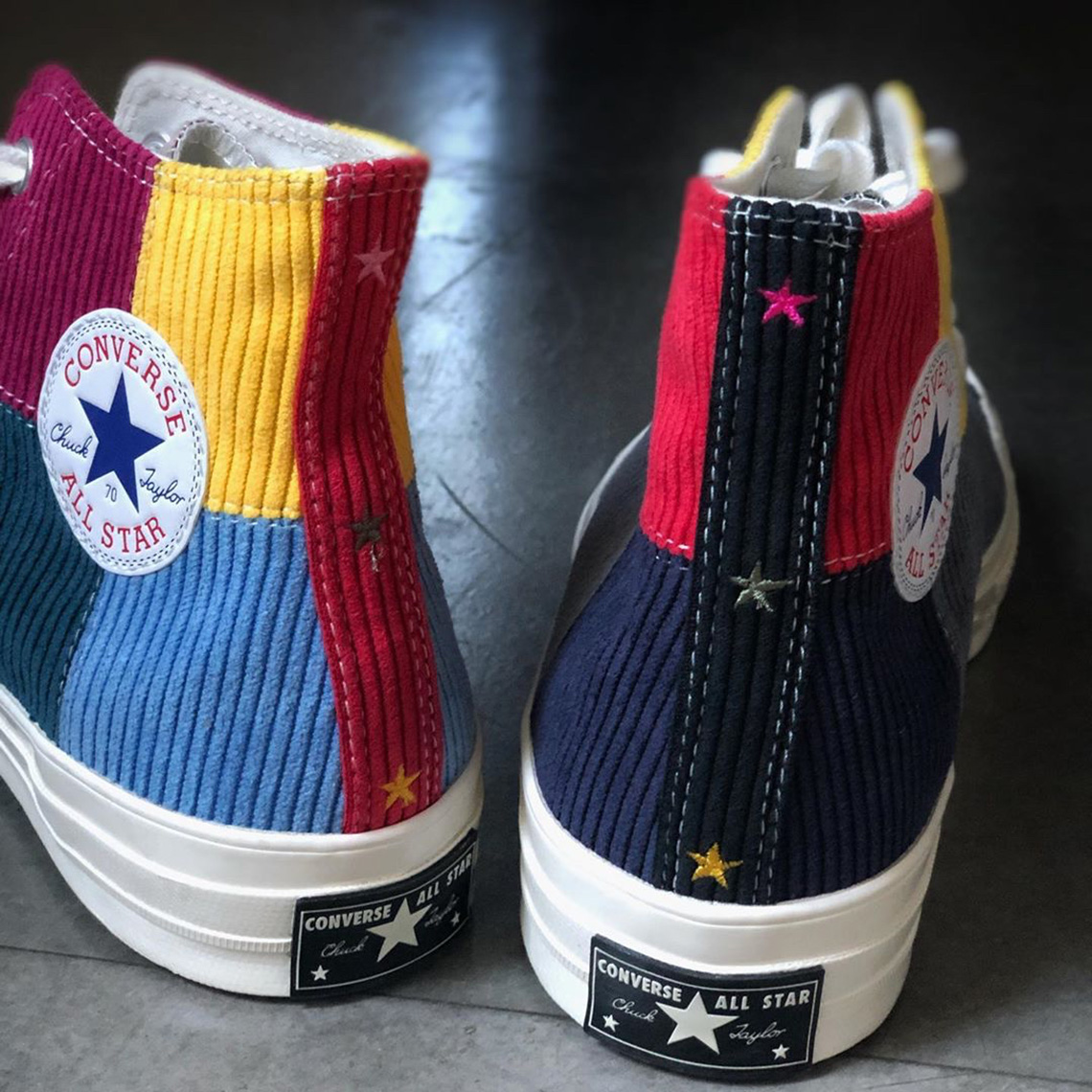 Offspring Converse Chuck 70 Patchwork Corduroy Release Info