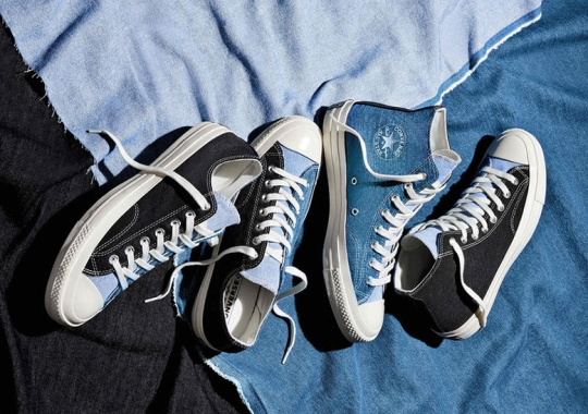 Converse Expands Their Renew Denim Offerings With New Tri-Panel Chuck 70 Capsule