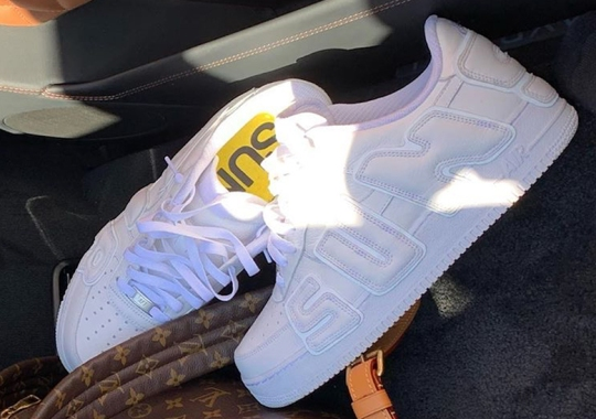Cactus Plant Flea Market's Nike Air Force 1 Revealed In White By Travis Scott