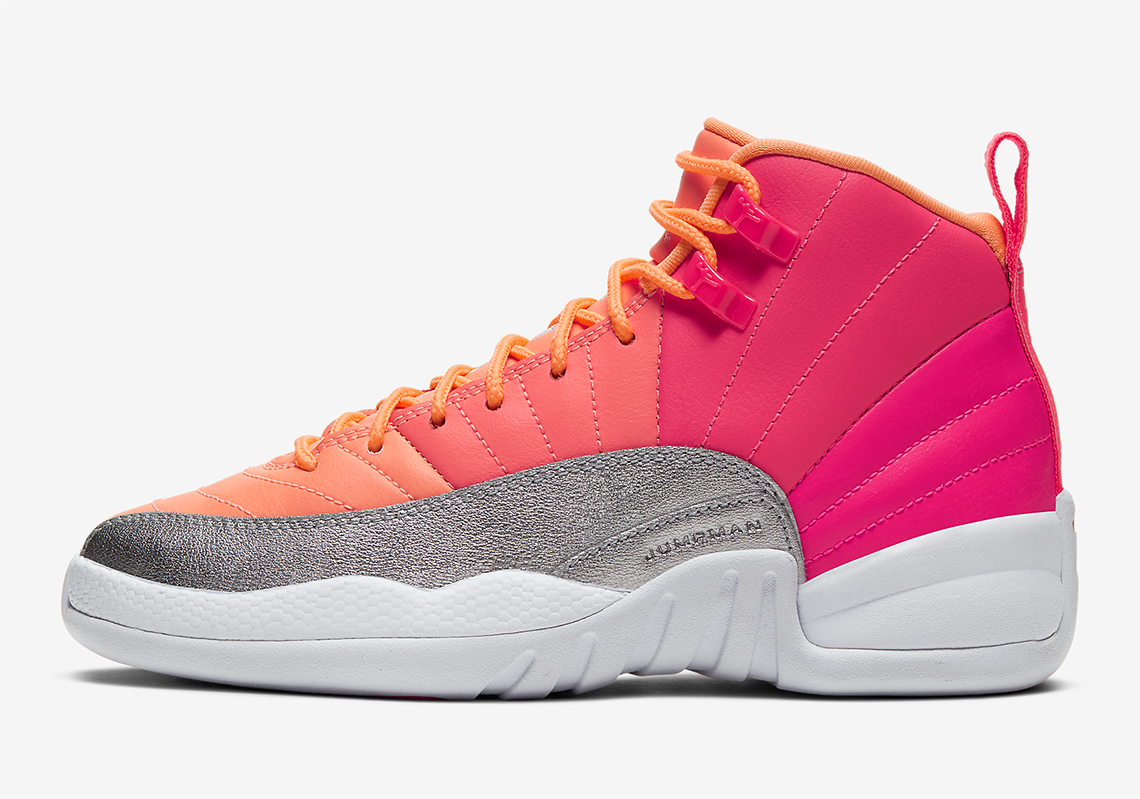 Air Jordan 12 Pink Orange 510815-601