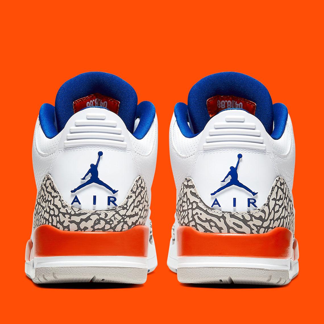 jordan 3 orange and blue