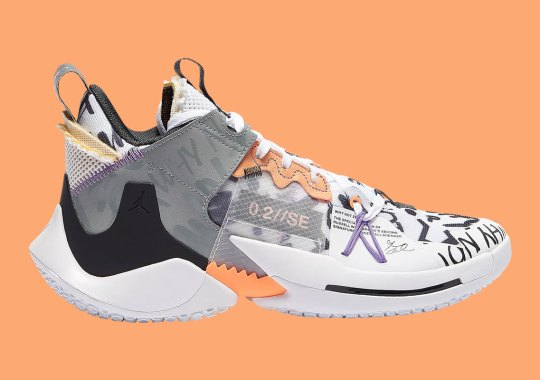 This Upcoming Jordan Why Not Zer0.2 SE Features Russell's Signature Quote All Over
