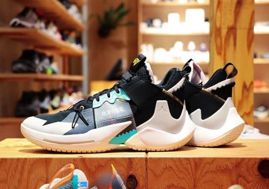 Russell Westbrook's Jordan Why Not Zer0.2 SE Returns In New Black Colorway
