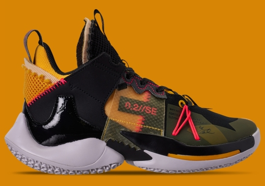 Russell Westbrook's Jordan Why Not Zer0.2 SE Emerges With Amarillo And Crimson Hits