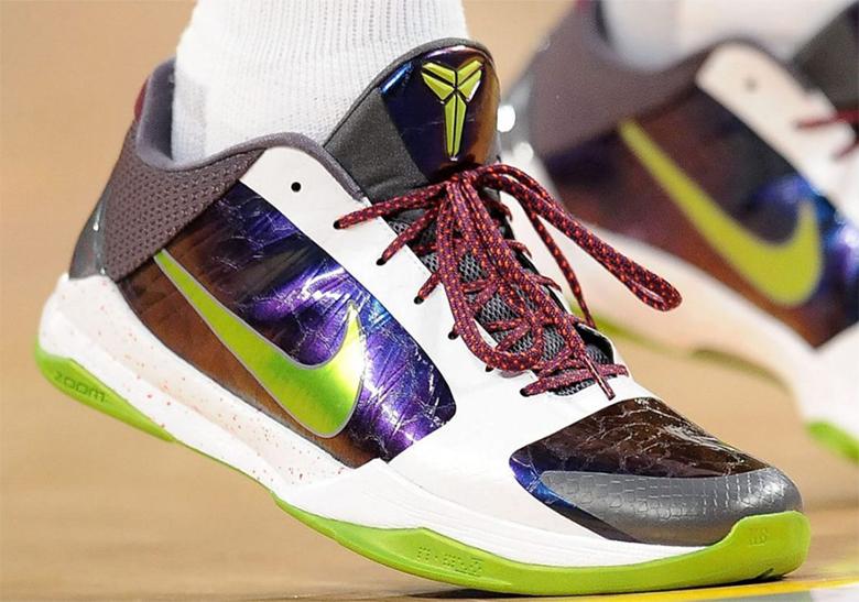 Nike Kobe 5 Protro Chaos Joker Release
