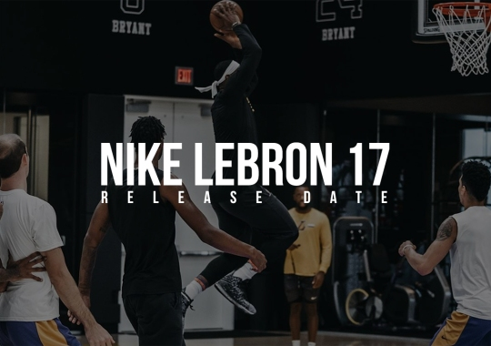 The Nike LeBron 17 Releases On October 3rd