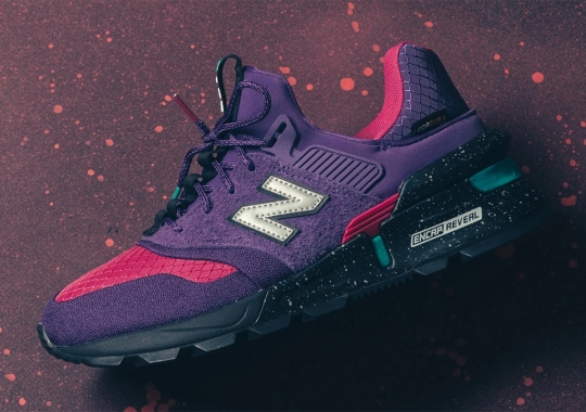 Cordura Fabric And A Bold Color Scheme Arrive On The New Balance 997S