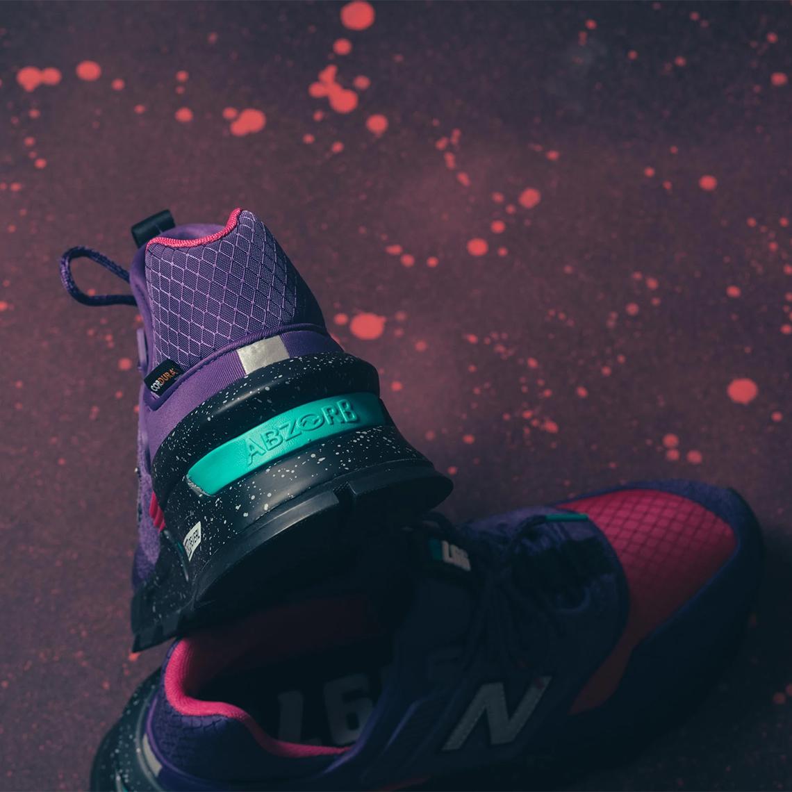 New Balance 997S Cordura Purple Pink