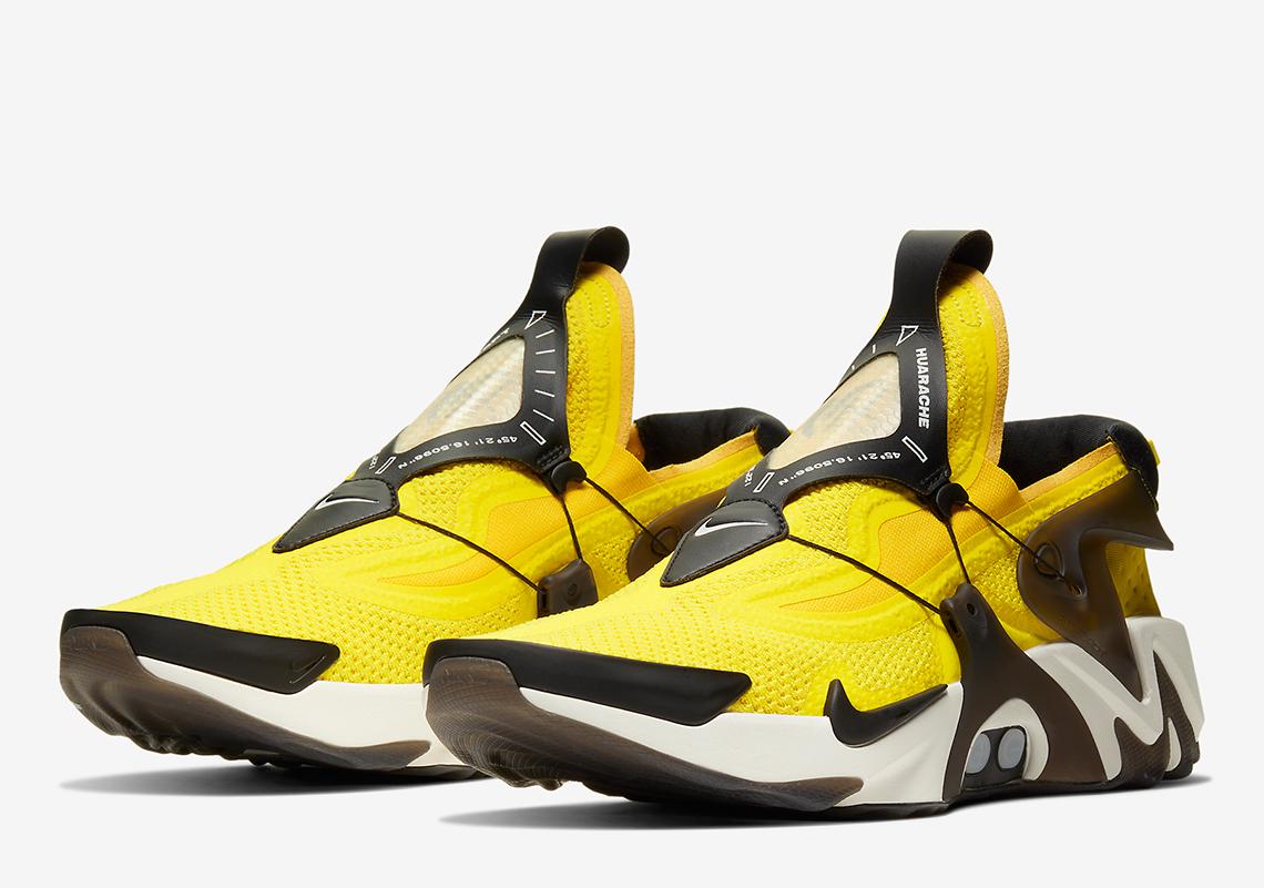Nike Adapt Huarache Yellow BV6397,710 Release Info