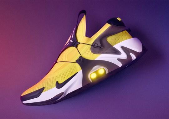 "The Nike Adapt Huarache ""Opti Yellow"" Releases on September 13th"