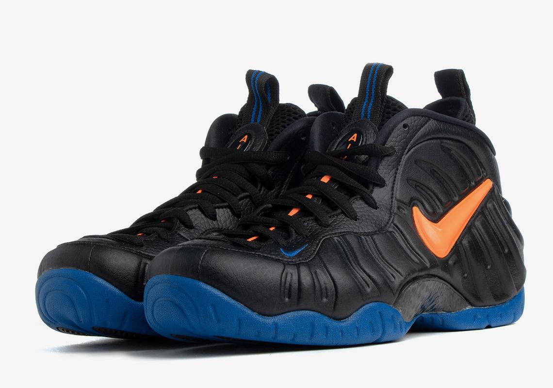 Nike Air Foamposite Pro Knicks 624041-010 Release Date | SneakerNews.com