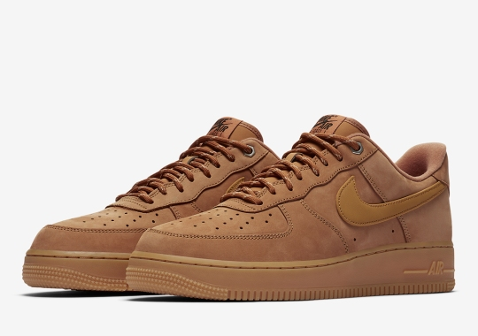 """The Nike Air Force 1 Low """"Wheat"""" Returns With Hiking Style Laces"""