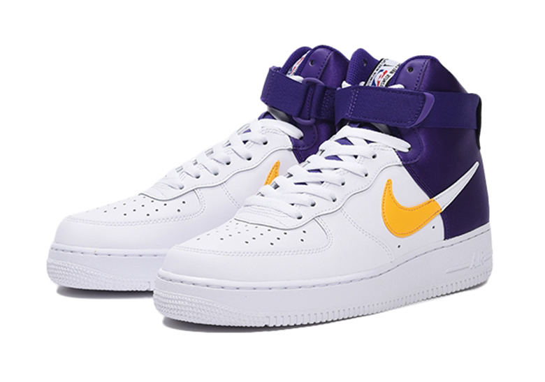 Nike Air Force 1 High NBA Lakers + Clippers Release Info
