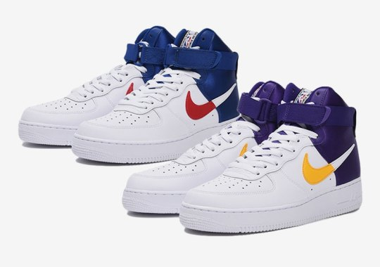 Nike And The NBA Deliver New Air Force 1 Highs For The Upcoming Season