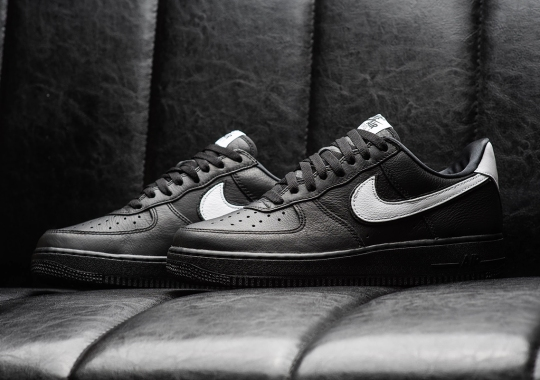 The Air Force 1 Low QS Is Making A Return In This Clean Black And White Colorway