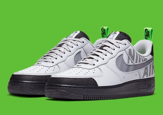 """The Nike Air Force 1 """"Under Construction"""" Is Built For Winter"""