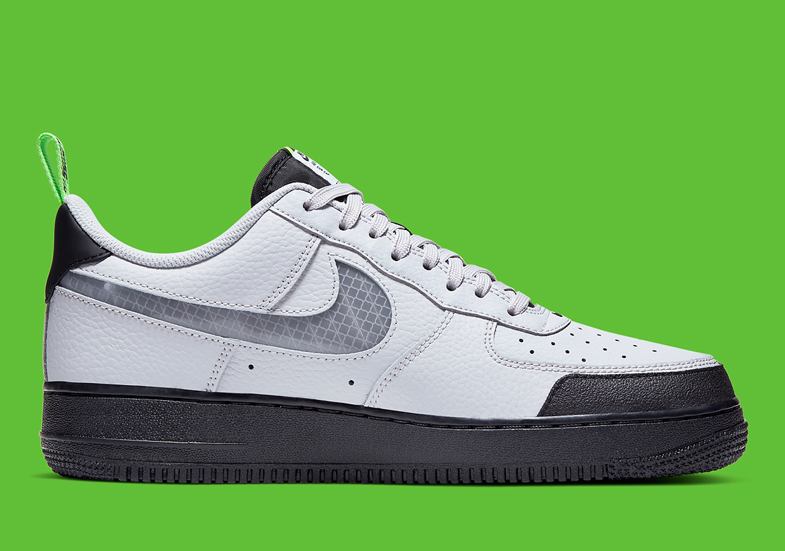 Nike Air Force 1 Low Under Construction Grey BQ4421 001