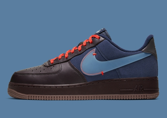 Bellied Swoosh Logos Return To The Nike Air Force 1 Low