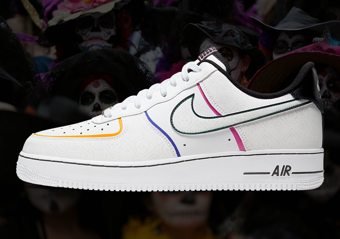Nike Air Force 1 Low Day Of The Dead Release Date | HYPEBEAST