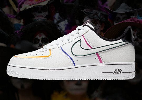 "First Look At The Nike Air Force 1 Low ""Day Of The Dead"""