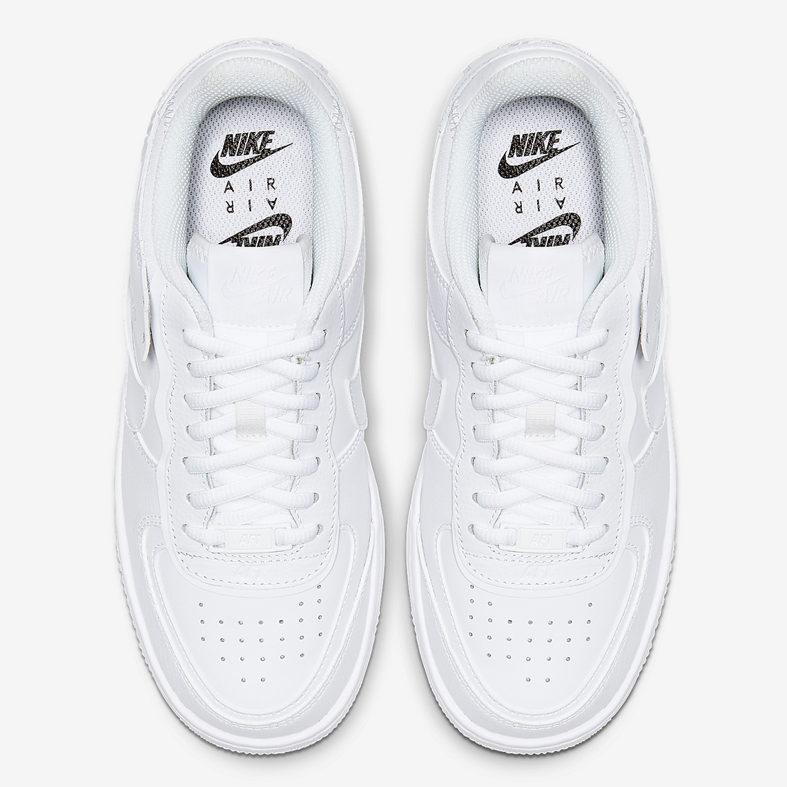 Nike Air Force 1 Low Shadow White Ci0919 100 Release Date Sneakernews Com Nike women's air force 1 '07 essential iridescent shoes. nike air force 1 low shadow white