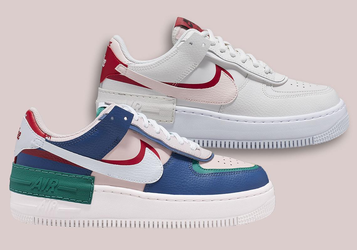 Nike Air Force 1 Shadow Ci0919 400 Ci0919 003 Release Info