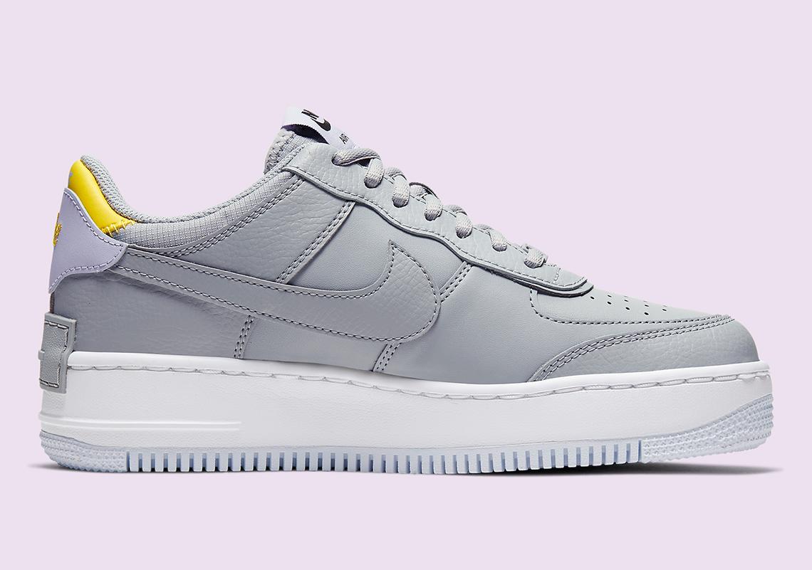 Nike Air Force 1 Shadow CI0919 002 Grey Lavender