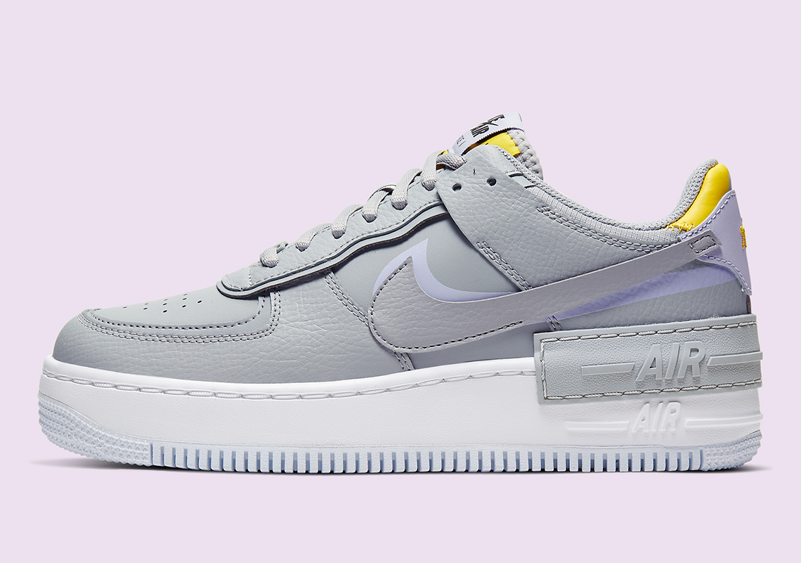 Nike Air Force 1 Shadow CI0919 002 Grey Lavender