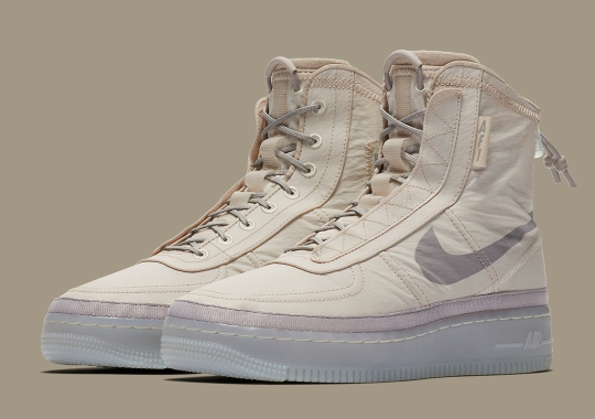 Nike Adds A Protective Exterior On The Women's Air Force 1 Shell