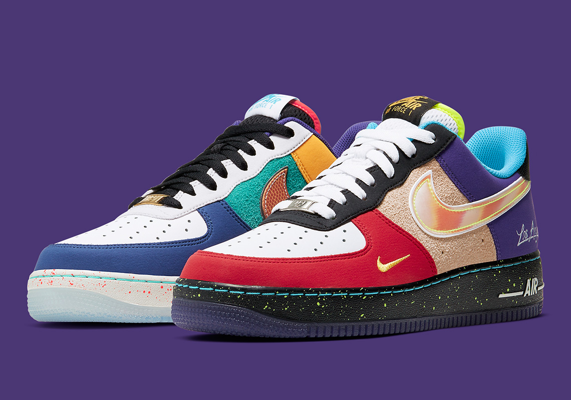 Nike Air Force 1 What The LA CT1117 100 Release Info