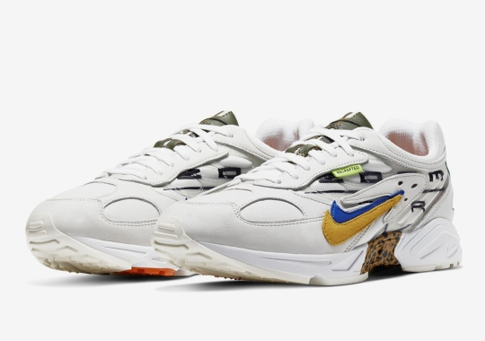 """The Nike Air Ghost Racer Gets A Wild """"Recrafted"""" Makeover"""