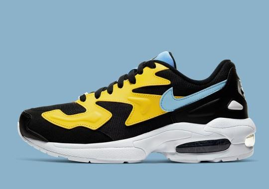 Pastel Hues Add Flair To This Nike Air Max 2 Light