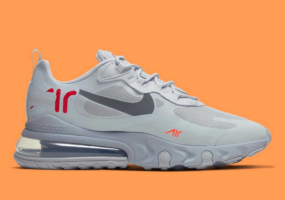 Original Nike Air Max 270 Weiß Orange Just Do it Größe 40 Neu