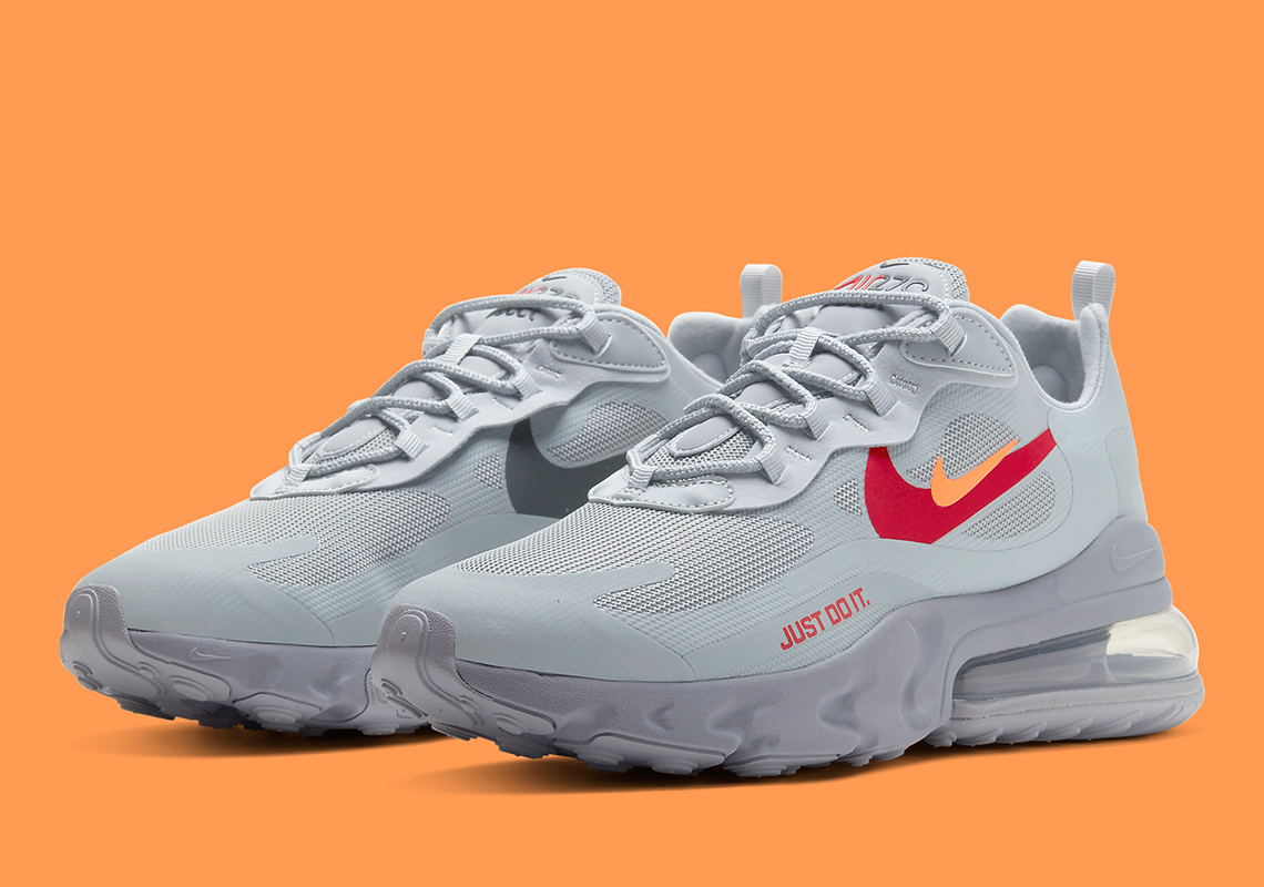 air max 270 react wolf grey