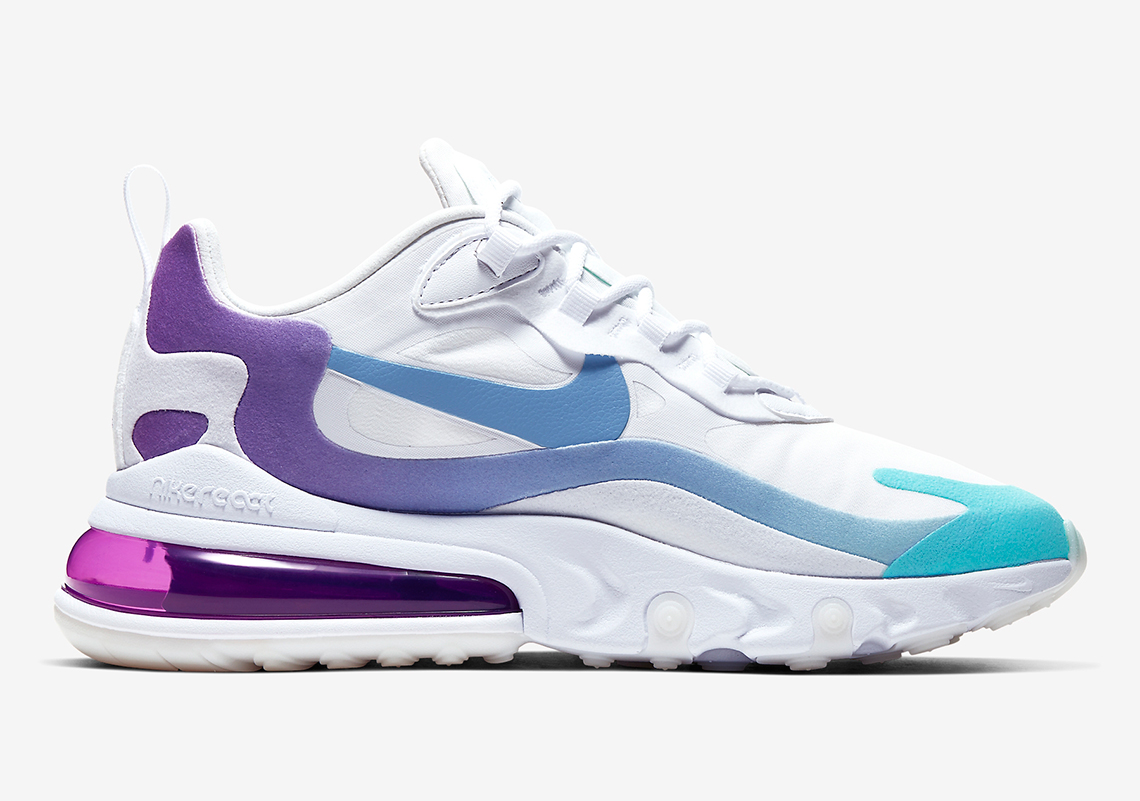 Nike Air Max 270 React Women's AT6174 102 Release Info