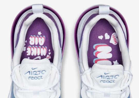 """This Air Max 270 React Says """"Nike"""" In Korean"""