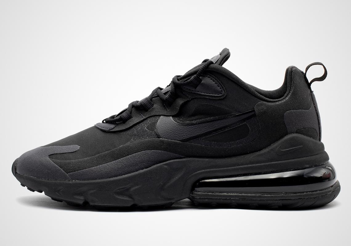 Nike Air Max 270 React Triple Black Ao4971 003 Release Date