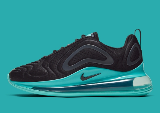 The Nike Air Max 720 Gets Full Turquoise Soles