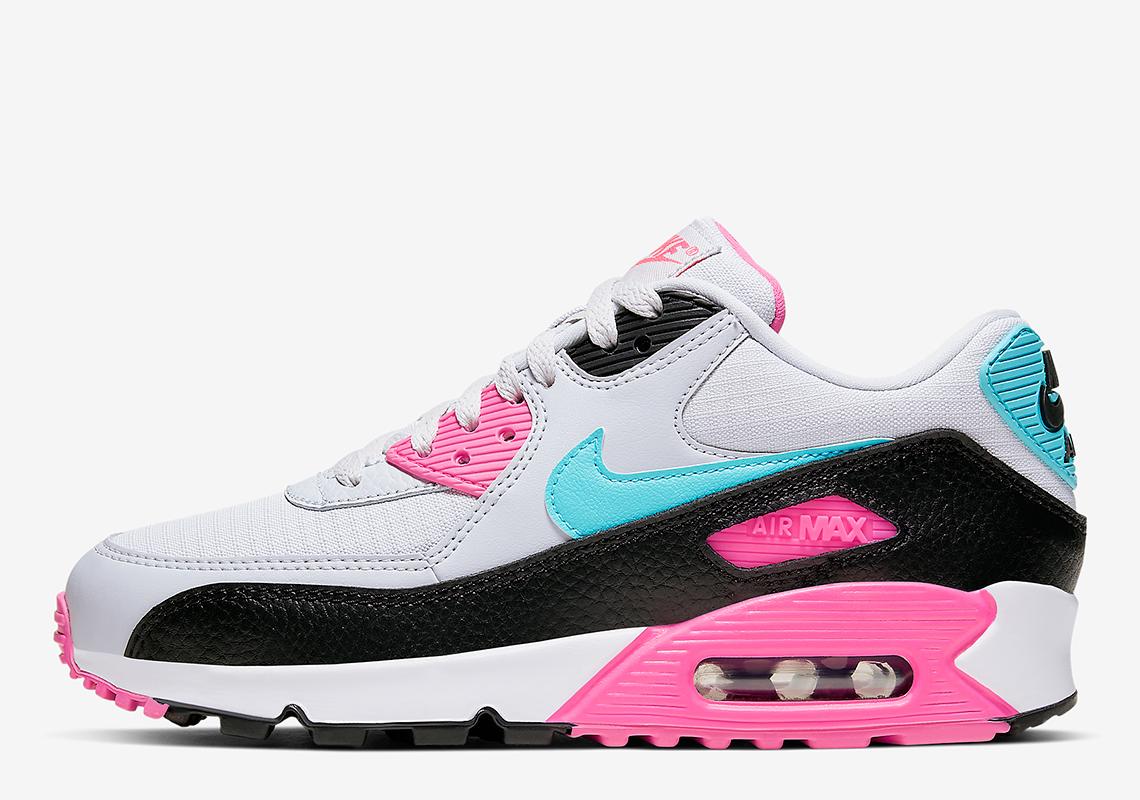 Nike Air Max 90 Pink Teal South Beach |