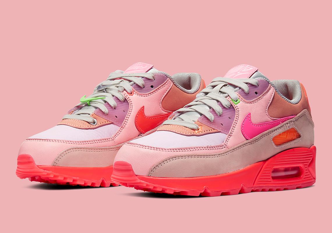 air max 90 rosa chiaro