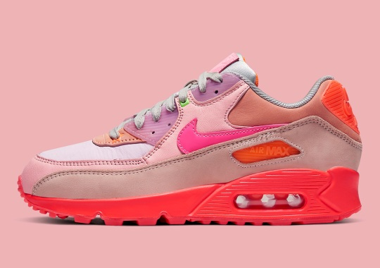 This Nike Air Max 90 Ushers In An Array Of Pink Shades