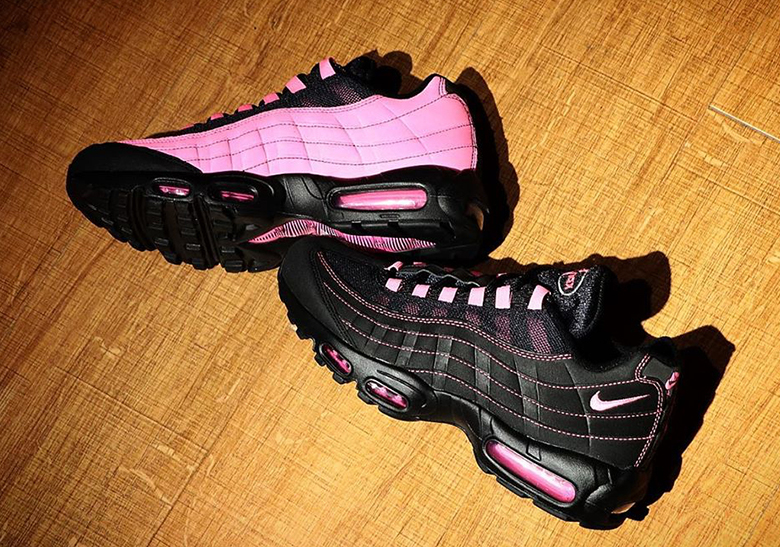Nike Air Max 95 Black Pink Release Info |