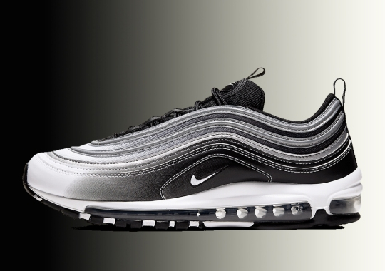 The Nike Air Max 97 Plays Up Its Sleek Style With New Gradient Fade Detailing