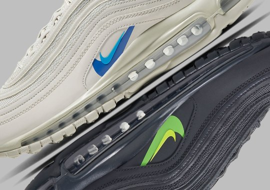 "Nike Readies A Double-Swooshed Air Max 97 For Seasonal ""Just Do It"" Pack"