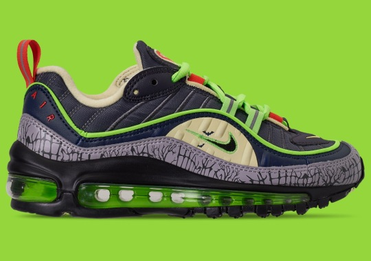 The Nike Air Max 98 Prepares Its Halloween Costume Early